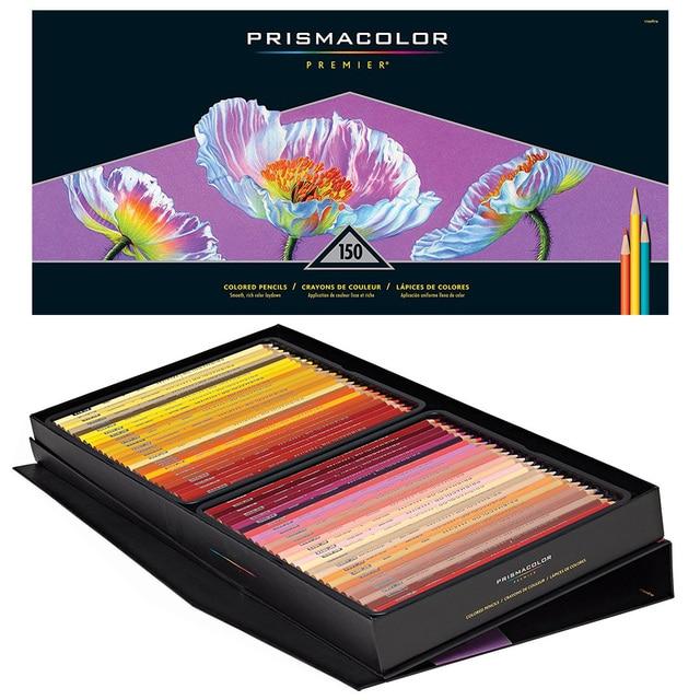lapis prismacolor premier colored pencils soft core 150 count oil