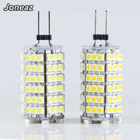 1 Uds bombilla bombillas de luz LED G4 Dc 12 V volt SMD 3528 120 leds bombilla de hogar iluminación 3000K 6000K lámparas 12v ahorro de energía