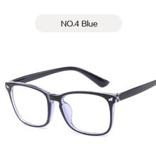 UVLAIK Bloqueando a Luz Azul Óculos de Armação Mulheres Homens Óculos de Computador  Óculos Óculos Transparente 9efbc4b8a7