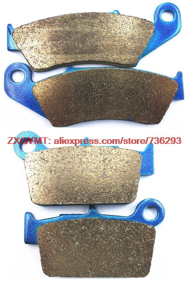 Fritté disque de moto jeu de plaquettes de frein fit GAZ GAZ EC250 CE 250 2012 et up