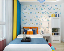 beibehang Family decoration children room papel de parede 3d wallpaper little bear nonwoven boy girl warm bedroom