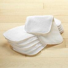 Конопли хлопок флис ткань пеленки вставка для gcloths для gpants Подгузники(упаковка из 3 шт