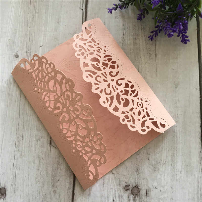 Lace invitation Metal Cutting Dies Stencils For DIY Scrapbooking Decor Embossing Suit Paper Cards Die Cutting Template NEW 2019