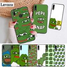 Lavaza the Frog meme pepe Colorful Silicone Case for Huawei P8 Lite 2015 2017 P9 2016 Mimi P10 P20 Pro P Smart Z 2019 P30