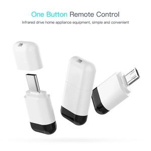 Image 5 - Mikro USB tip c arayüzü akıllı App kontrol mobil telefon uzaktan kumandası kablosuz kızılötesi aletleri adaptörü TV için TV kutusu