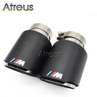 For BMW M3 M4 M5 F30 F20 F10 M Power Carbon Fiber Akrapovic Car Exhaust Muffler