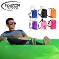 Yuetor Сверхлегкий дизайн ленивый Пляжный надувной матрас Диван Гостиная Кемпинг спать laybags воздуха лежака надувные laybag