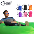 Yuetor Ultralight design lazy Beach bed  Air Sofa Lounge Camping of sleeping laybags air lounger inflatable laybag