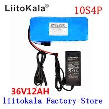 LiitoKala 36 V 12AH Elektrische Fahrrad Batterie Gebaut in 20A BMS Lithium Batterie Pack 36 Volt mit 2A Ladung Ebike batterie