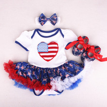 Newborn Infant Baby Girl Clothing Tops Cotton Jumpsuit 3pcs