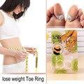 Japão perda de peso Original emagrecimento Silicone massagem anel do dedo magnético Fat queima de saúde para mulheres homens frete grátis
