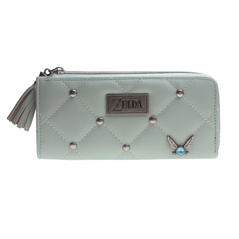 Legend Of Zelda Navi L Zip Wallet Designer High Quality Women Purse  DFT-5524
