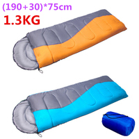1300g 190 30 75cm Winter Sleeping Bag For Outdoor Camping Hiking Travelling Thick Cotton Sleep Rest