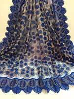 Gold African French Lace Fabric High Quality African Tulle Lace Fabric For Wedding French Lace Fabric