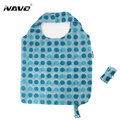 NAVO polyester shopping bag foldable reusable grocery bag eco-friendly recycle shopper large capacity environmental folding bags