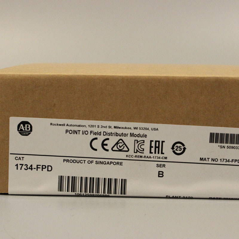1734-FPD 1734FPD PLC Controller,New & Have in stock 1pc used ab plc 1734 ow2