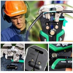 Image 5 - Outils de dénudage automatique LAOA pinces de coupe fil outils de dénudage de câbles électriques pour le sertissage délectricien fabriqués à Taiwan