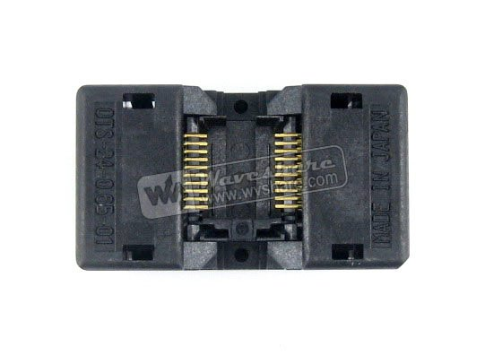 SSOP20 TSSOP20 OTS-20(24)-0.65-01 Enplas IC Test Burn-in Socket Programming Adapter 0.65mm Pitch 4.4mm Width import ots 28 0 65 01 burning seat tssop28 test programming