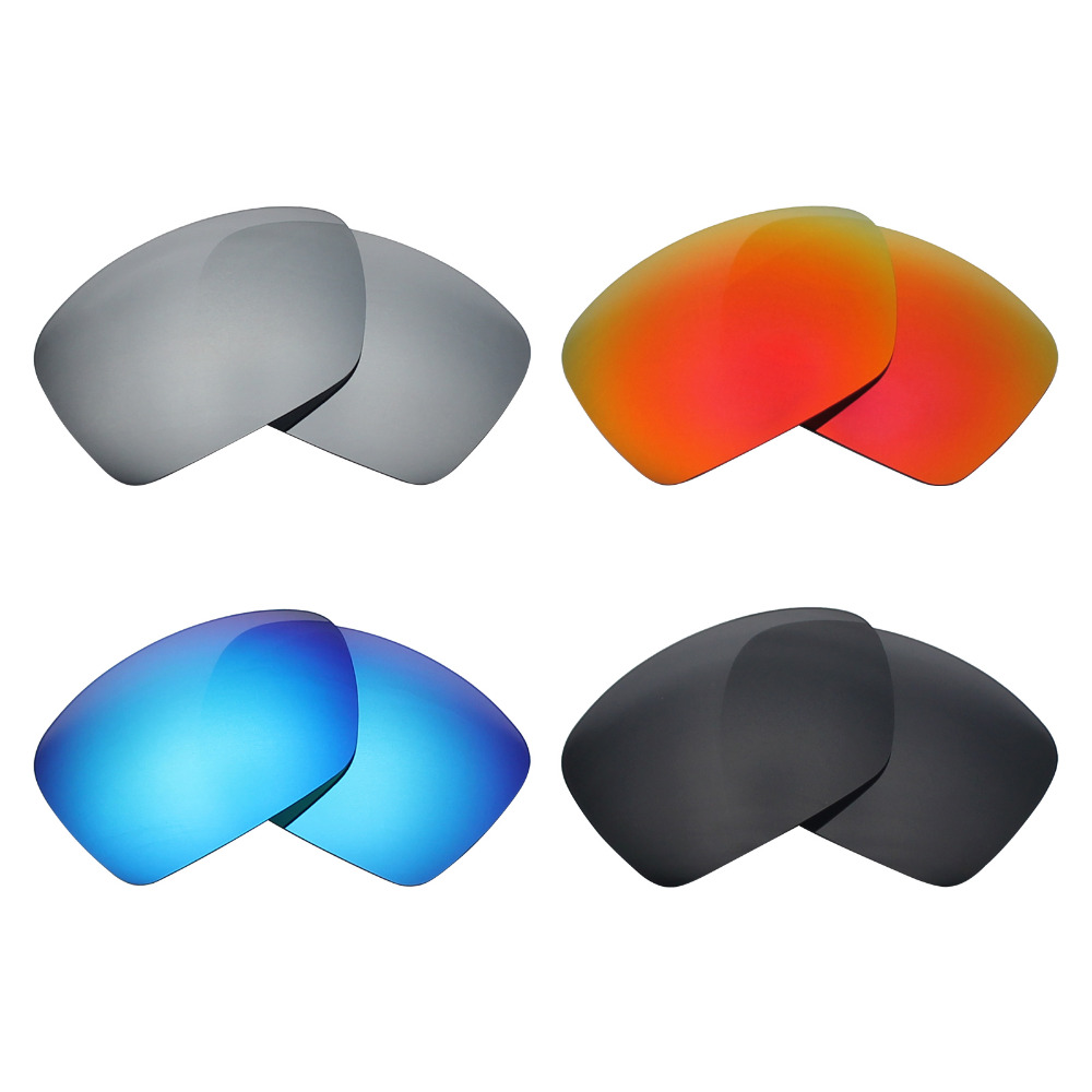 Mryok Anti Scratch POLARIZED Replacement Lenses for Oakley Plaintiff ...