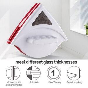 Image 2 - Магнитное средство для очистки окон, двусторонняя магнитная щетка, бытовой стеклоочиститель, зеркальная поверхность 5 12 мм/15 24 мм/20 30 мм