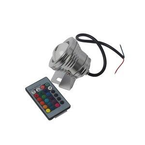 Image 4 - مصباح صيد القوارب لليخوت البحرية 12 فولت 24 فولت مصباح بركة السباحة LED RGB مع جهاز التحكم عن بعد IP65
