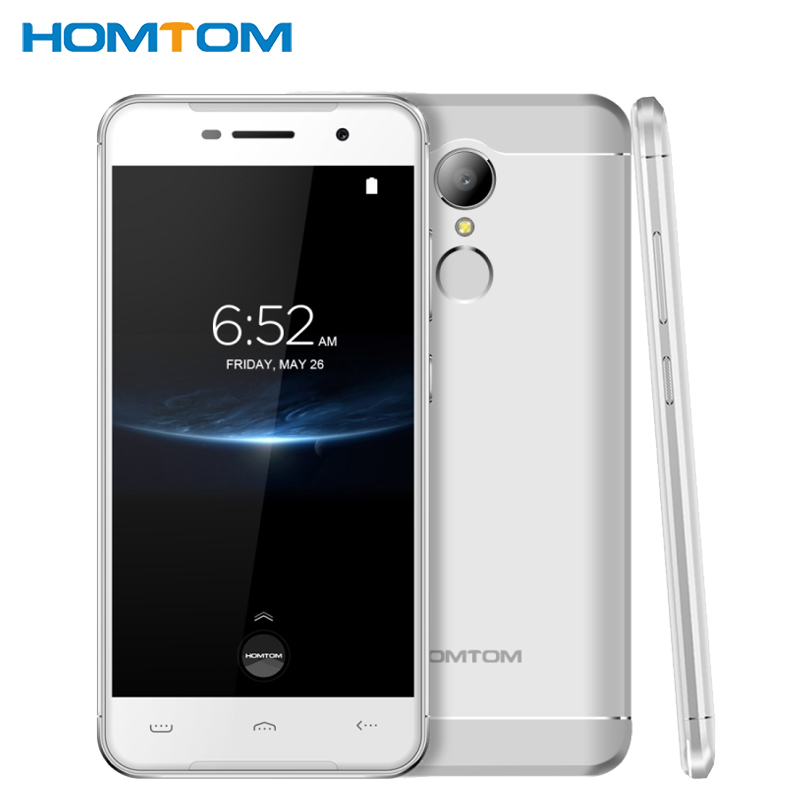 "Original Homtom HT37 Pro Cell Phone 5.0"" HD Screen 3GB RAM 32GB ROM MTK6737 Quad Core Android 7.0 13MP Camera 3000mAh Smartphone"
