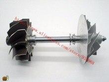 HX55 Турбо части вала турбины и колеса 80×86.4 мм, Компрессор колеса 63.5×99 мм, поставщик ААА Частей Турбокомпрессора