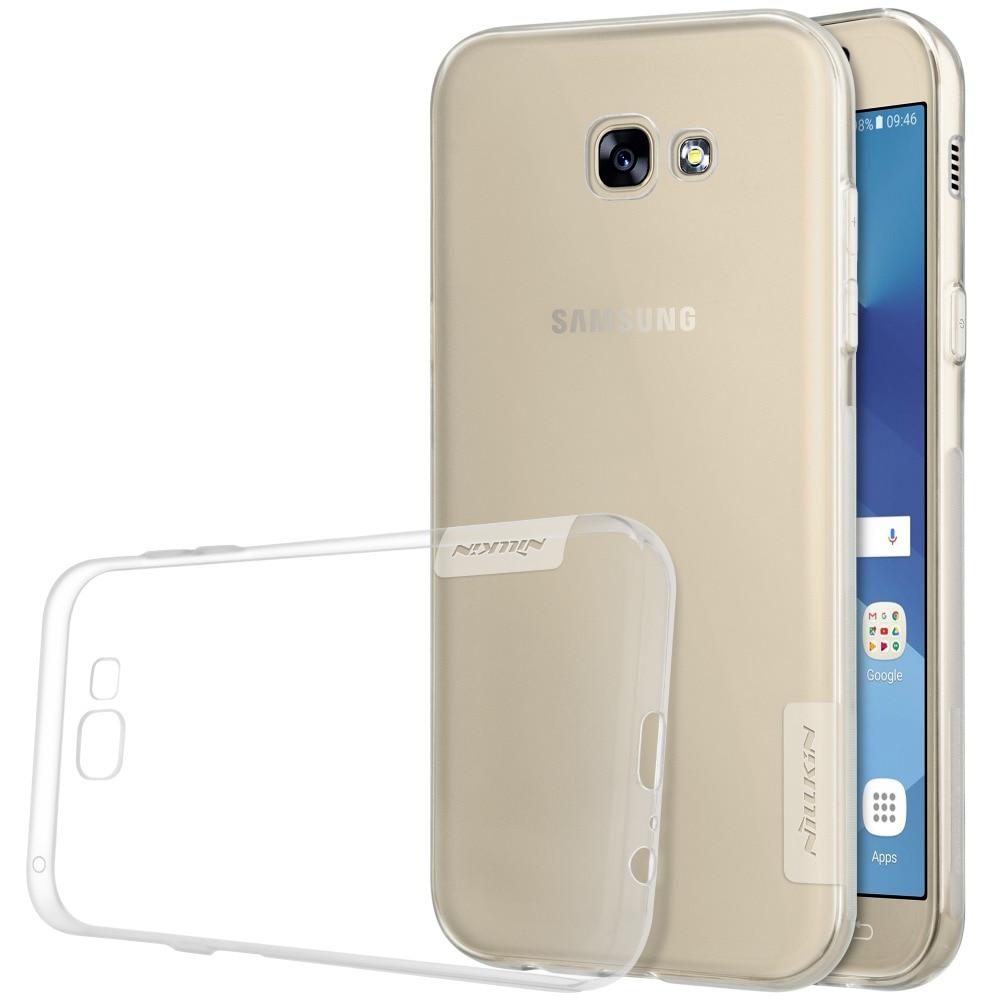 NILLKIN Şeffaf Doğa TPU Kılıf Samsung Galaxy A3 A7 (2017 sürüm A320 A720) Temizle Yumuşak Arka kapak