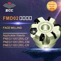 Zcc. ct 기존 페이스 밀링 커터 fmd02 고성능 cnc 선반 공구 인덱서 블 밀링 공구 페이스 밀링 공구