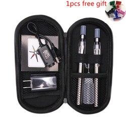 SUB DOIS Dupla zip ego ce4 kit Cigarro Eletrônico ego t bateria ce4 atomizador Vape pen e-cigarros kits caneta hookah eletrônico