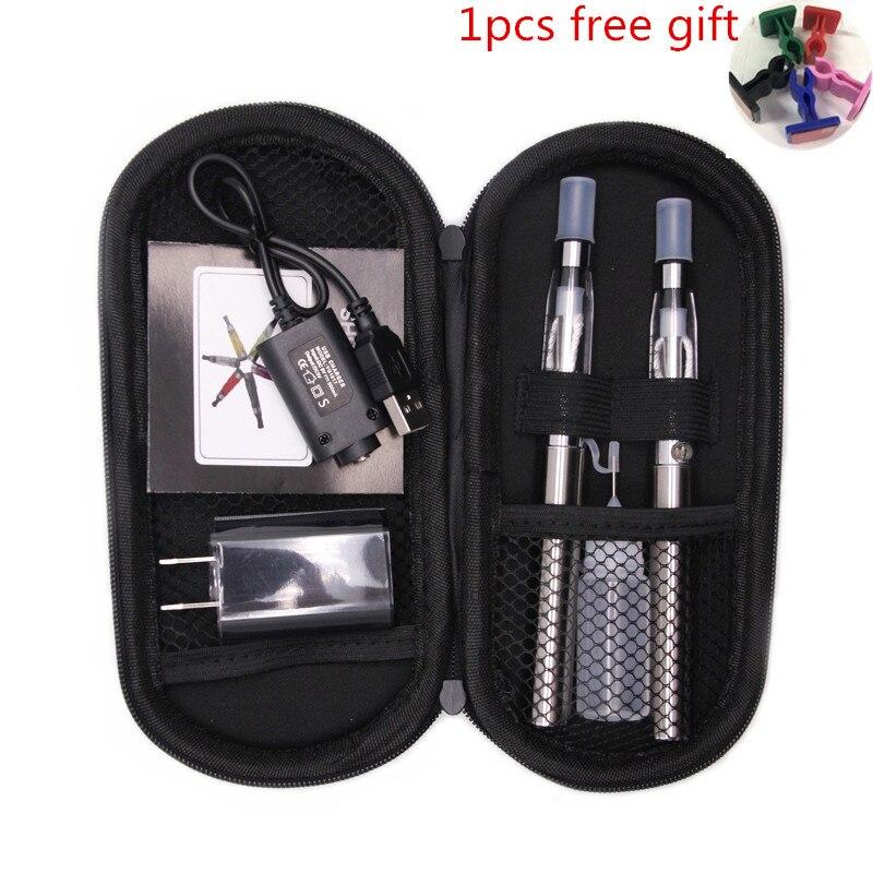 Sub dual ego CE4 zip kit cigarrillo electrónico eGo T batería CE4 atomizador vape pen e-cigarrillos kits pluma narguile electrónica