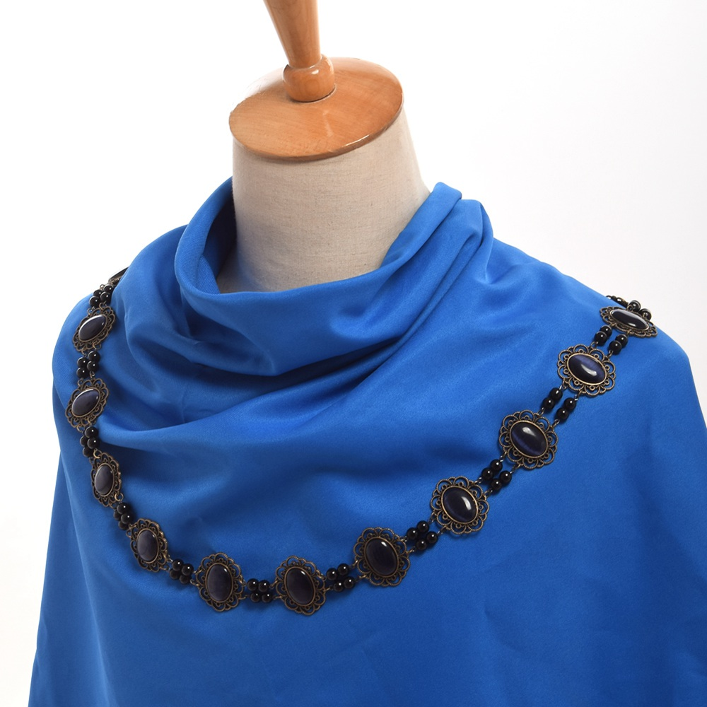 Medieval Men Cosplay Accessory Tudors Dynasty Renaissance SCA Chain of Office Livery Collar Elizabethan Necklace medieval handgonnes