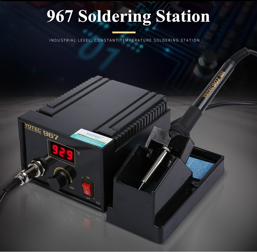 FORGELO 967 AC100--265V B Pointe Onduleur De Reprise Électrique Unité Principale Électrique À Souder Station Changement de Fréquence Puissance de Sortie 75 w