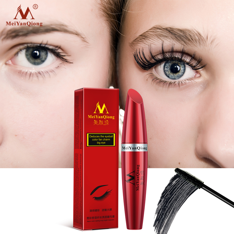 9aba6fe9e09 Detail Feedback Questions about MeiYanQiong neon whisper long bright mascara  moisturizing easy to dry natural curling thick waterproof sweat proof  eyelash ...