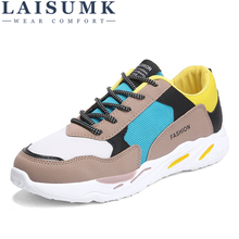 2019 LAISUMK Men Casual Shoes Canvas Camouflage Star Style Male Comfort Soft Walking Driving Trainers