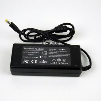 19 V 4 74A adapter AC ładowarka do notebooka do Acer Aspire 7750G 7739Z 7560G 7745G 5750 zasilanie dla Laptop akcesoria do laptopa tanie i dobre opinie Dla acer 19V 4 74A KWOKKERK Black AC 19V 4 74A 100-240V 50-60 Hz 5 5mm*1 7mm