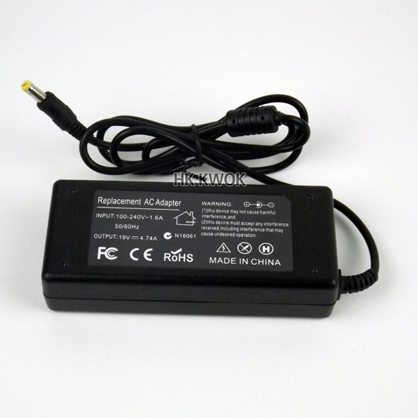 19V 4.74A AC Adapter Notebook Charger For Acer Aspire 7750G 7739Z 7560G 7745G 5750 Power Supply For Laptop Laptop Accessories slim laptop charger ac power adapter for acer liteon adp 135kb t 5 5 1 7mm 135w 19v 7 1a notebook power supply