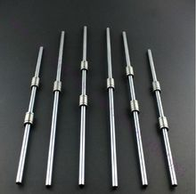 Reprap Prusa Mendel Polished Smooth Rods OD 8mm  with linear bearings set LM8UU 3D Printer Accessory top quality