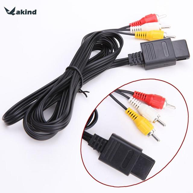 Brand New AV Audio Video A/V TV Cable Cord For Nintendo 64 for N64 ...