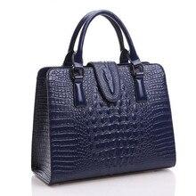 アワ & ユリワニのパターン本革バッグの女性のショルダーバッグメッセンジャーバッグ高級有名なデザイナーハンドバッグ高品質