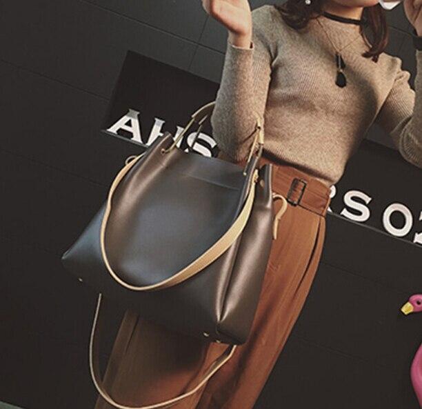 Frauen Tragbare große tasche mit großer kapazität umhängetasche weibliche kurze bildpaket tote umhängetasche lguyt598