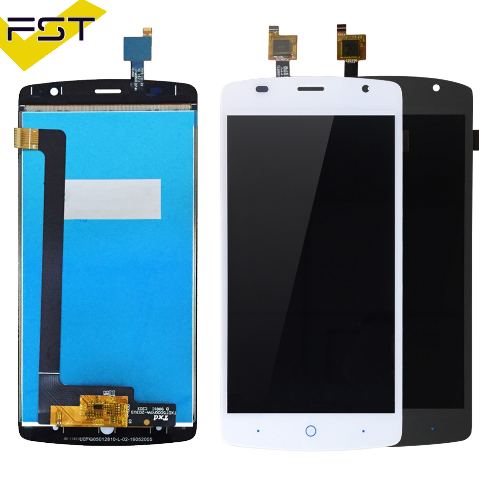 Grey/White for ZTE Blade L5 Plus LCD Display + Touch Screen Digitizer Assembly Cellphone Repair for ZTE L5 Plus Pantalla