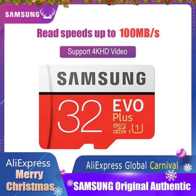 Original Samsung Micro Sd Card 32gb Class 10 Memory Card Evo Evo