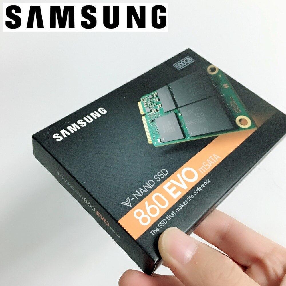 SAMSUNG 860EVO 860 EVO 250 gb 500 gb 1 tb 250g 500g MSATA SSD Interne Disques SSD SATA 6 gb/s 250g 500g 1 tb