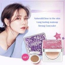 Air Cushion BB Cream Isolation Concealer Oil Control Moisturizing Liquid Foundation CC Cream For Female Makeup