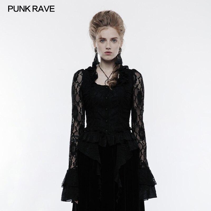 Hot devil fashion homme gothique vampire Shirt Top Steampunk Vintage Victorien Cosplay