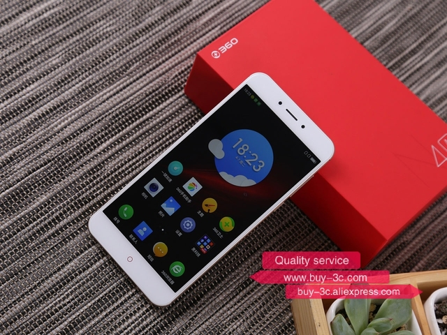 Original 360 N4A MTK Octa Core CPU 3GB RAM 32GB ROM 5.5 Inch 1920*1080 Pixel 4G LTE Fingerprint Dual Sim 2.5D Screen Google play
