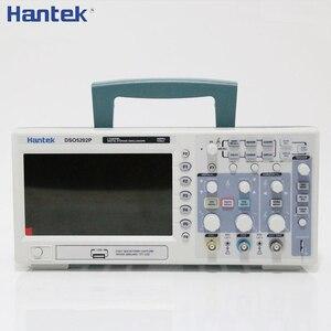 Image 2 - Osciloscópio de armazenamento digital de hantek dso5202p 200mhz 2 canais 1gsa/s 7 tft tft lcd comprimento de registro 40k osciloscópio usb