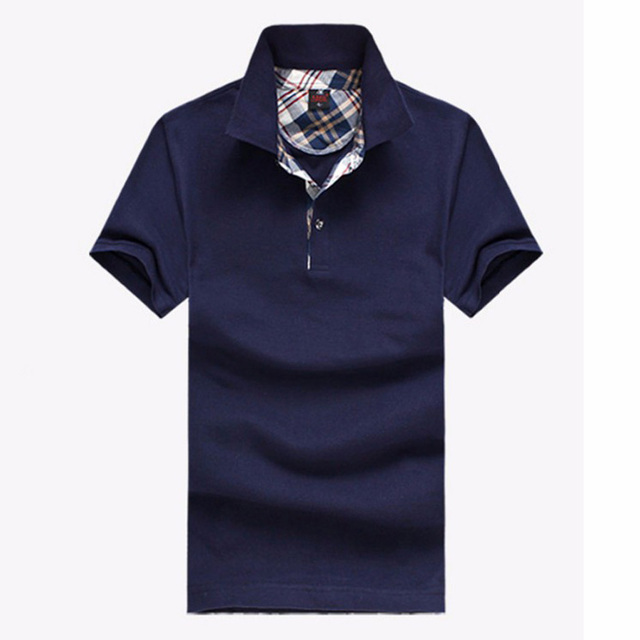 Free shipping polo 2017 brand shirt men POLO shirts short sleeve casual style for men shirts 25
