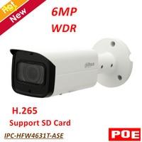 6MP Dahua IP Camera Outdoor Waterproof IP67 WDR IR Mini Bullet Network Camera Security Camera IR Distance 60m